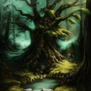 nathie-fantasy-art-The-Old-Tree